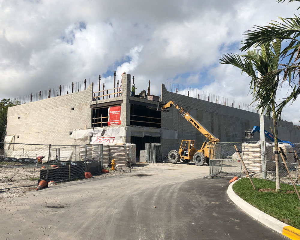 structural engineer/industrial/self-storage/Life Storage Dania Beach/O'Donnell & Naccarato 2