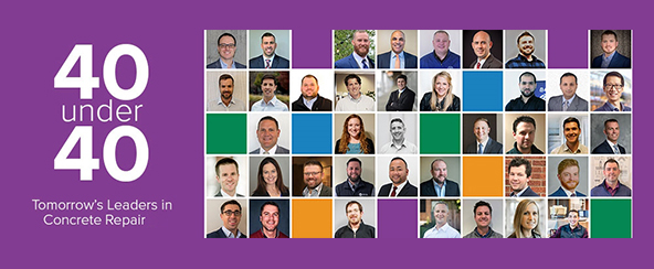 Collage of ICRI 40 under 40 winners | Matthew Mowrer Wins ICRI 40 Under 40 | O'Donnell & Naccarato